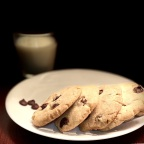 Chocolate chip cookies – a good tea time snack!